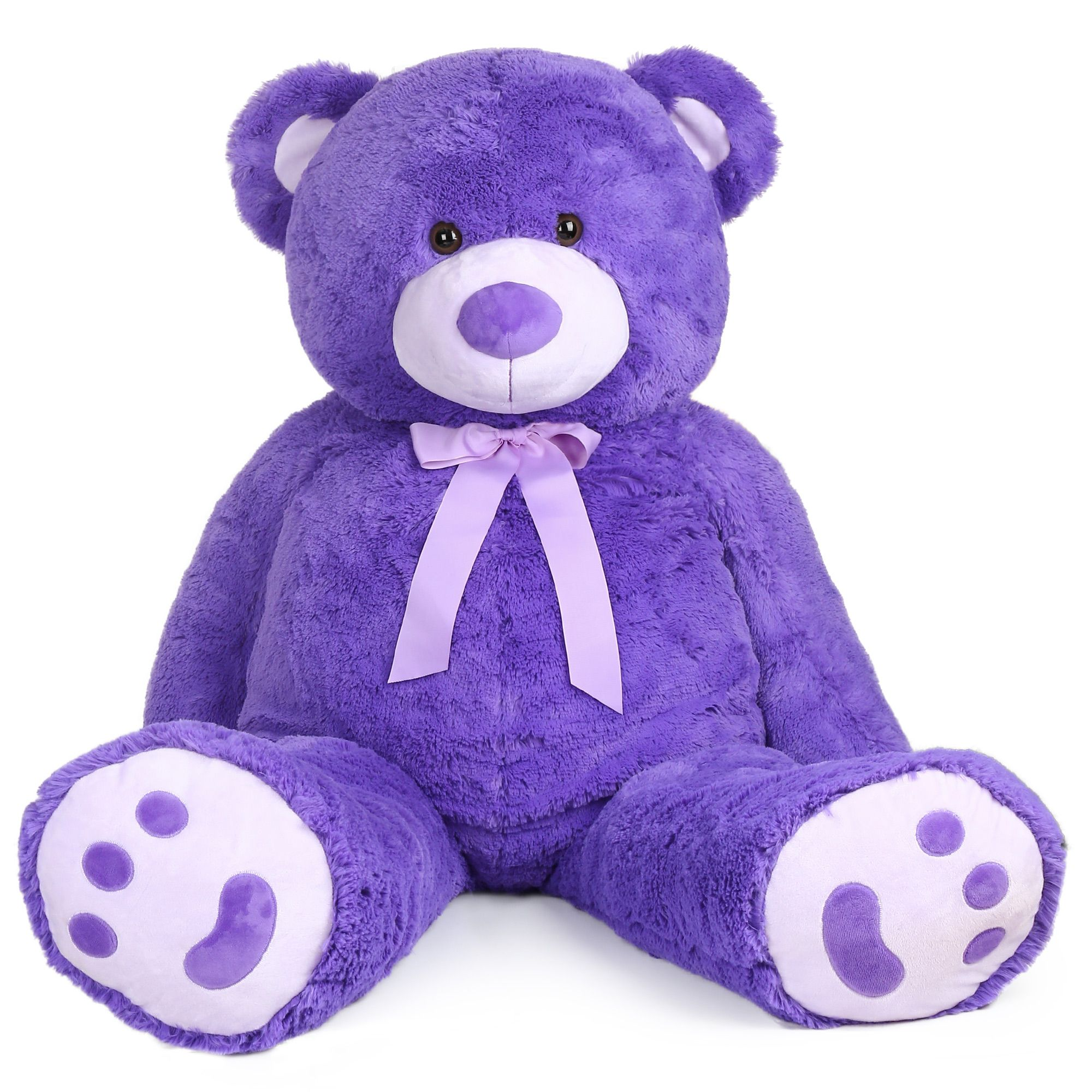 6 Ft Giant Teddy Bear Huge Stuffed Plush Animals Toy Birthday Mother/'s Gift 72/""