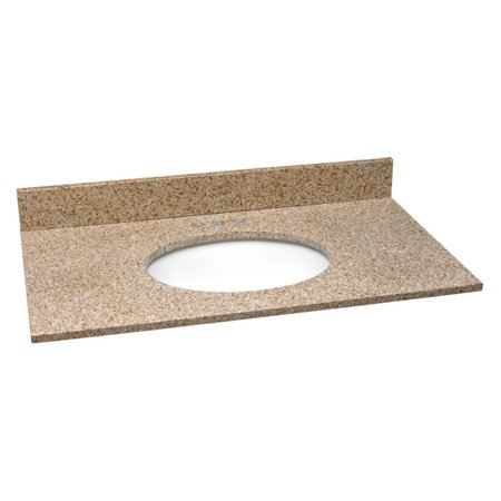 Design House 61W X 22D In  Granite Single Sink Vanity Top