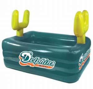 Miami Dolphins Inflatable Field Swimming Pool