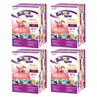 "Balloon Time Jumbo 12"" Helium Tank Blend Kit (4 Boxes)"
