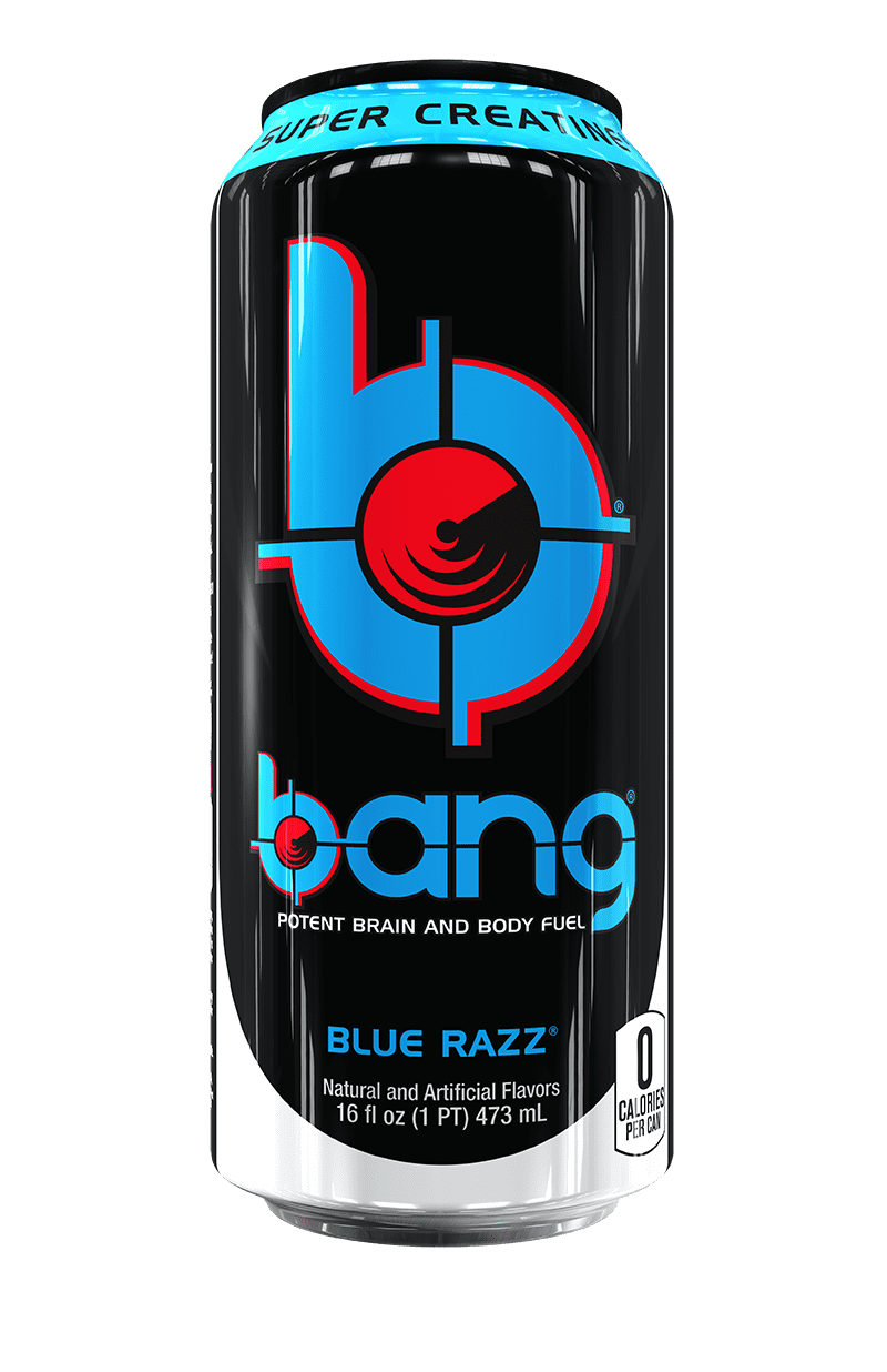 Vpx Bang Blue Razz Energy Drink 16 Fl Oz Walmart Com