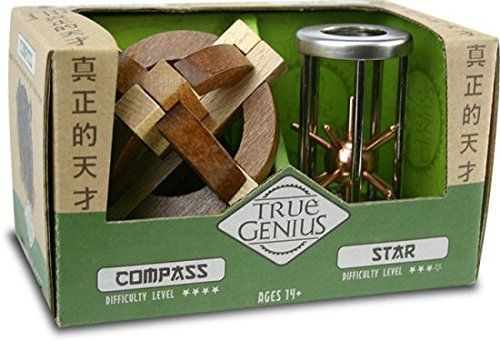 Compass & Star (True Genius) Brain Teaser by Recent Toys (TG018) by Recent Toys