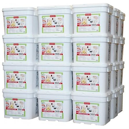 Lindon Farms 12960 Servings Freeze Dried Food Survival Emergency Storage Meals by Lindon Farms