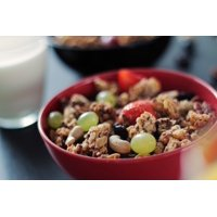 LAMINATED POSTER Muesli Cashews Grapes Cereal Nuts Strawberries Poster Print 24 x 36