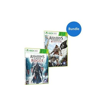 Assassin's Creed Black Flag and Rogue Bundle Walmart Exclusive (Xbox