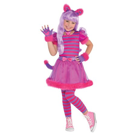 Cheshire Cat Child Costume - X-Large (White Cat Ears Costume)