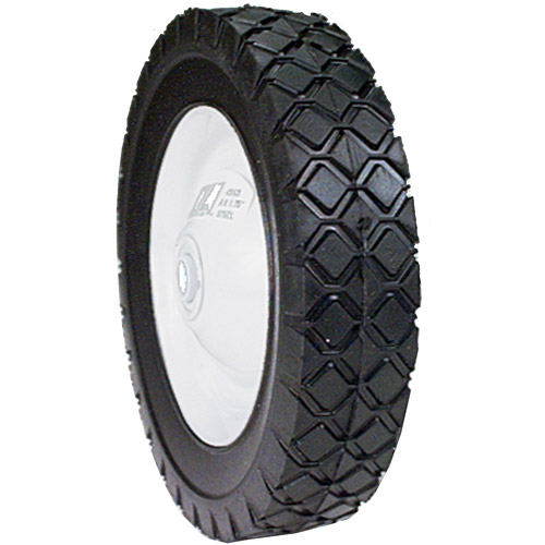 Maxpower 335180 8 in x 1.75 in  Steel Lawn Mower Wheel