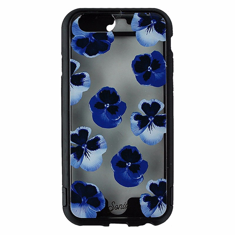 Sonix Active Series Case for iPhone 6 / 6s - Black / Blue Flowers