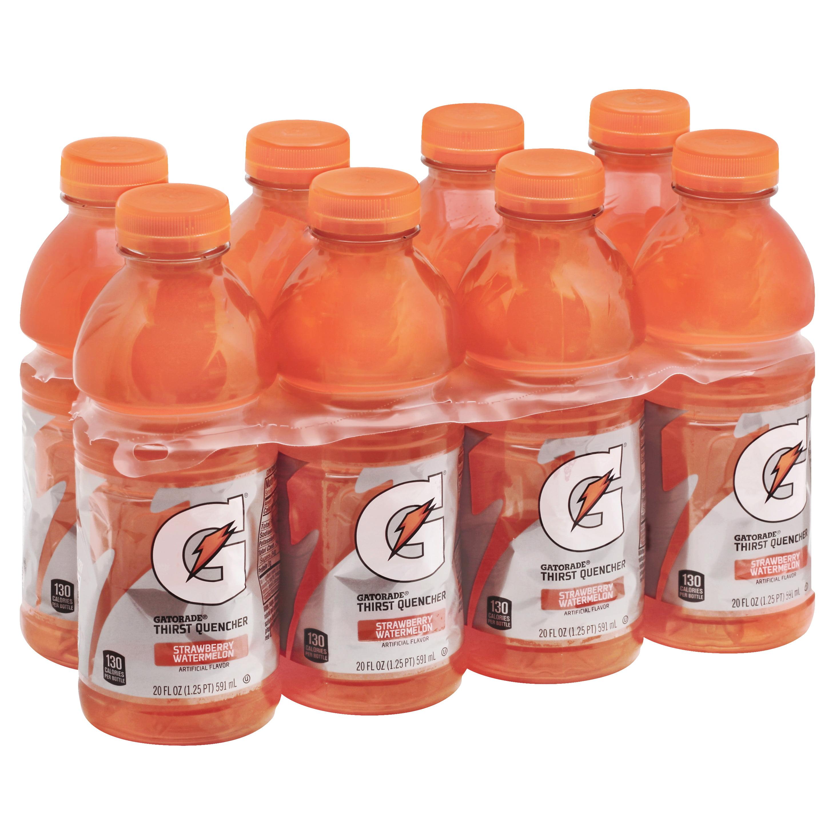 Gatorade Thirst Quencher Strawberry Watermelon Drink, 20 Fl. Oz., 8 Count
