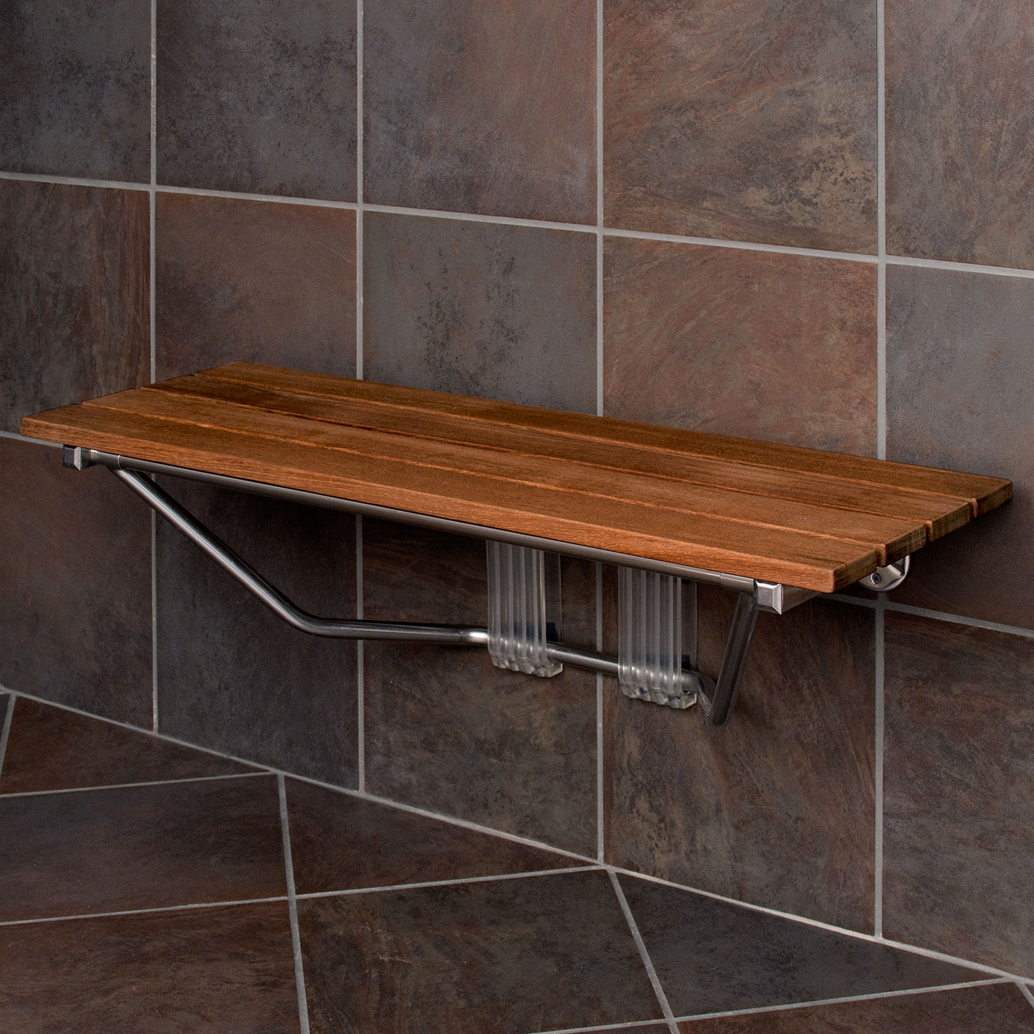 Beautiful Wall Mount Shower Bench Photos - Bathroom and Shower Ideas ...