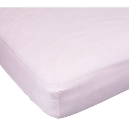 Carters Easy Fit Sateen Crib Fitted Sheet, Pink