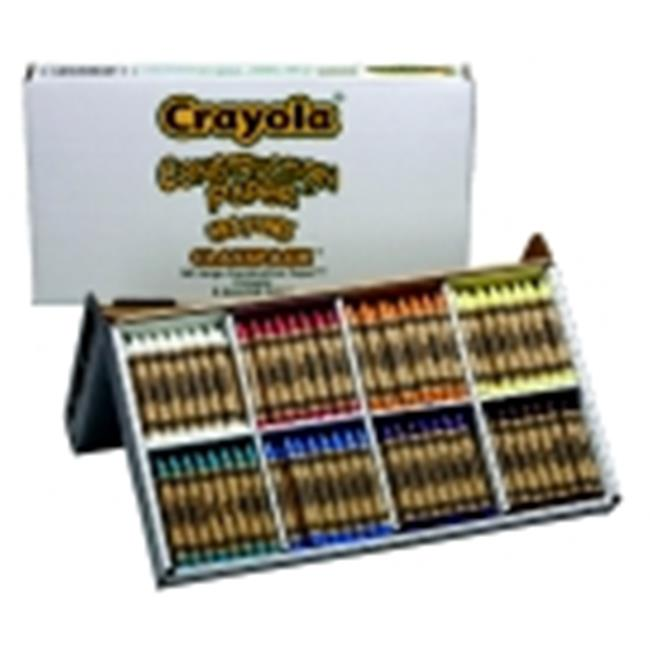 Crayola Non-Toxic Construction Paper Crayon, Assorted Color, Pack - 160