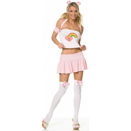 Leg Avenue Womens 'Cuddly Bear' Halloween Costume (Bear Costume Halloween)