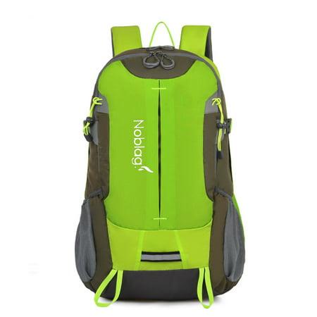 Noblag Waterproof Multifunctional Outdoor Hiking Trekking Mountaineering  Backpack - Capacity 30-40 L -Green - Walmart.com 29fc90993d376