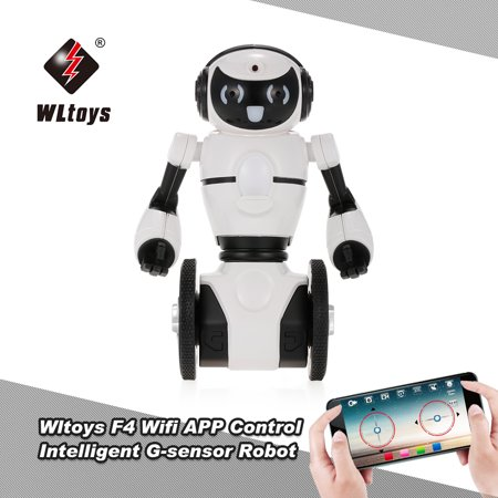 Wltoys F4 0.3MP Camera Wifi FPV APP Control Intelligent G-sensor Robot Super Carrier RC Toy Gift for Children Kids