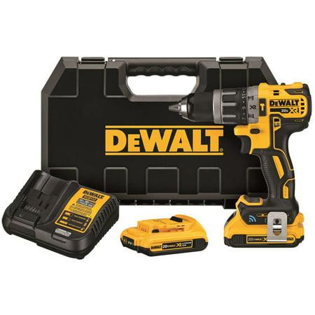 Dewalt-DCD797D2 20V MAX XR Tool Connect Compact Hammerdrill Kit