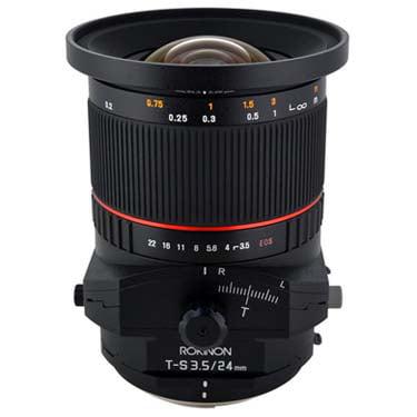 Rokinon TSL24M-C 24mm f/3.5 Tilt Shift Fixed Lens for
