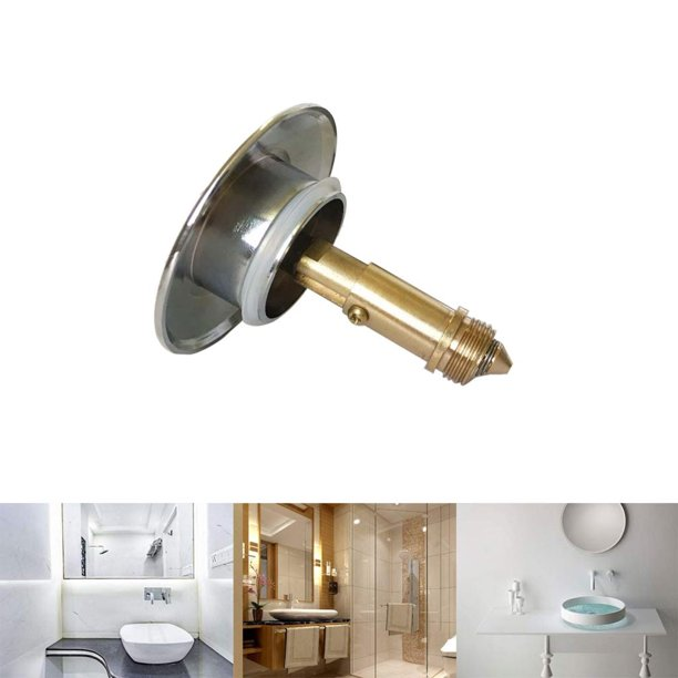 Sink Bath Basin Waste Easy Up Click Spring Mechanism Brass ...