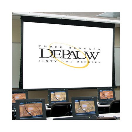 Draper Premier White Electric Projection Screen by
