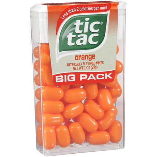 Liberty Distribution Big Pack Orange Tic Tac 112089 Pack of 12