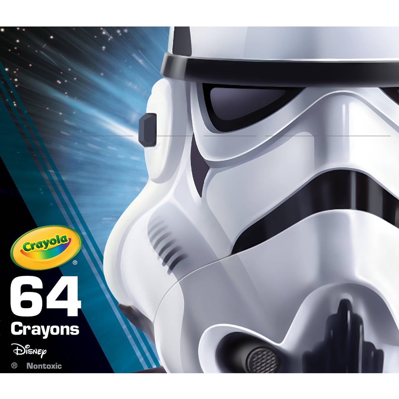 Crayola Star Wars Limited Edition 64ct Crayons, Storm Trooper