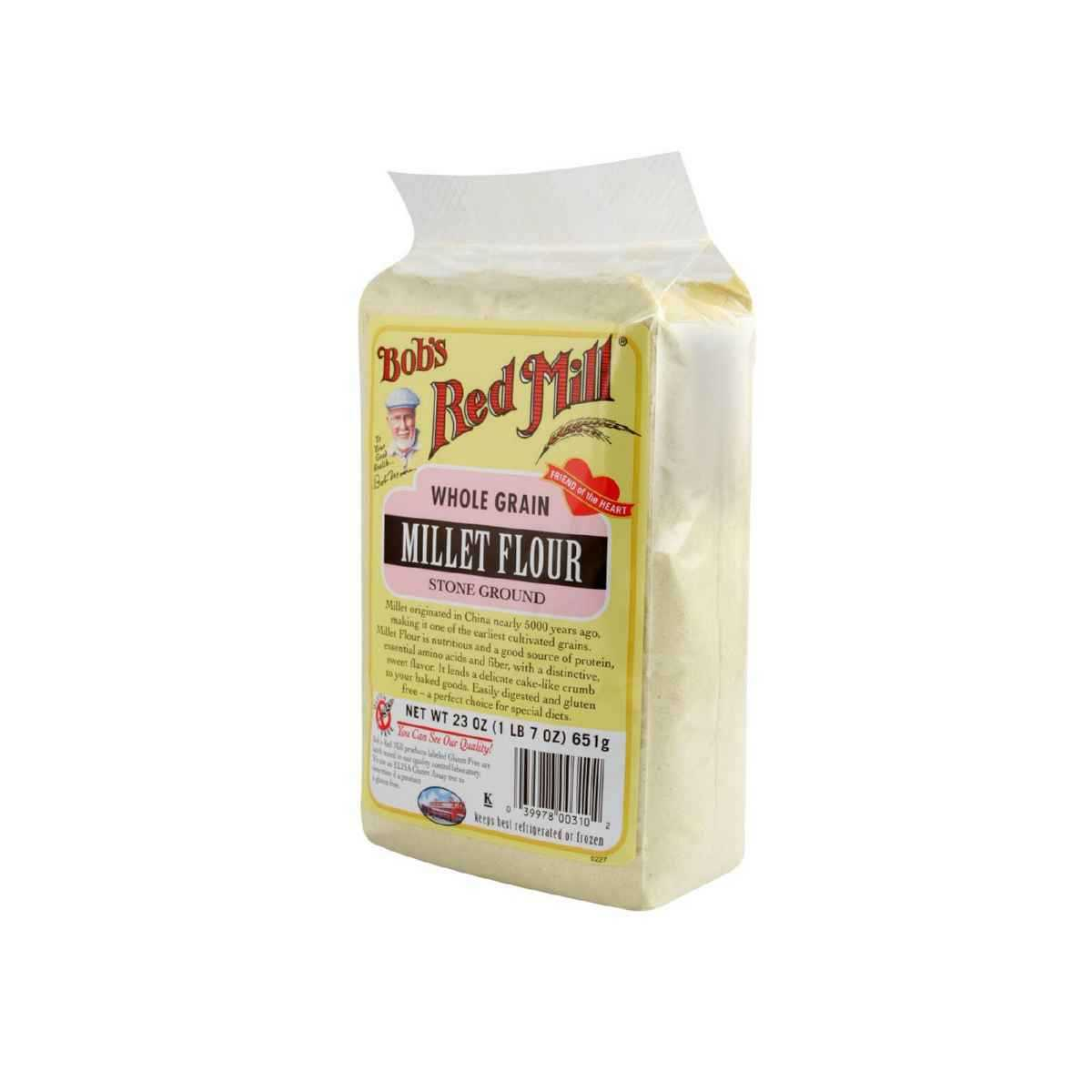 Bob's Red Mill Flour Whole Grain Millet, 23 Ounce by Bob'S Red Mill