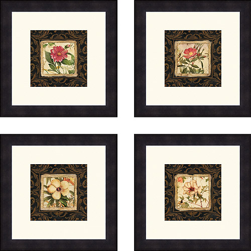 Tropical Botanique, Set of 4