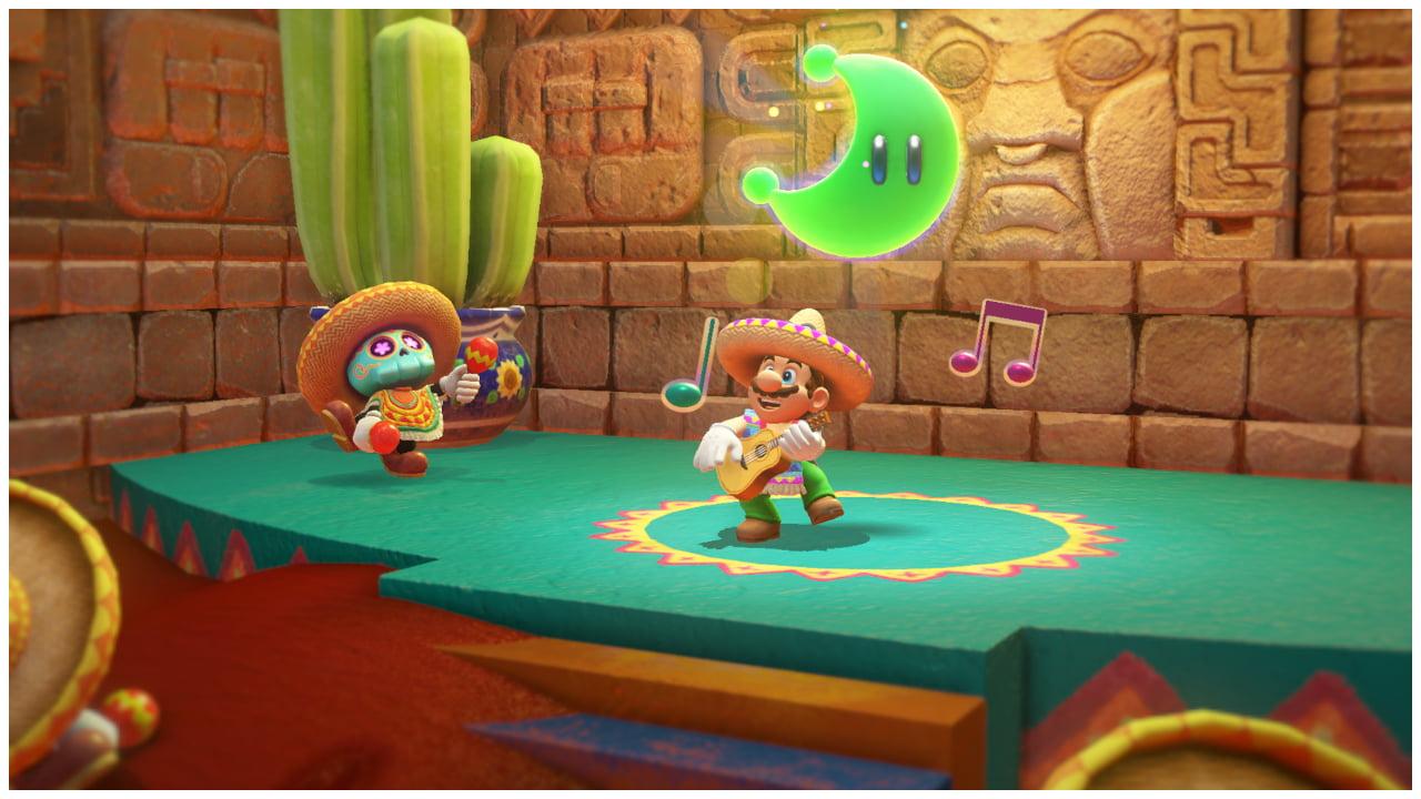 Nintendo Super Mario Odyssey Switch Ps4 Birthdays The Beginning Reg 2