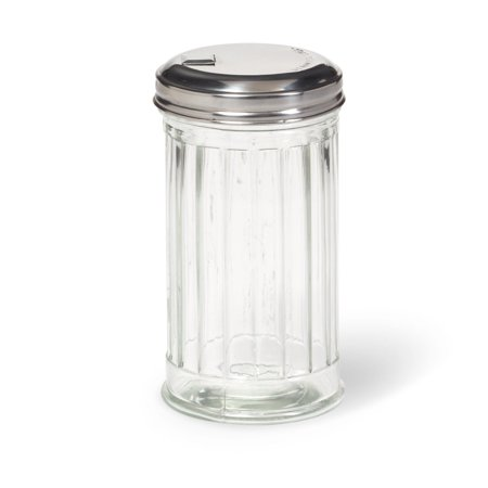 Modern Sugar Dispenser Retro Style 10oz Glass Jar With Stainless Steel Lid - Sugar/Coffee/Tea Dishwasher Safe For Home or - Design Sugar Jar