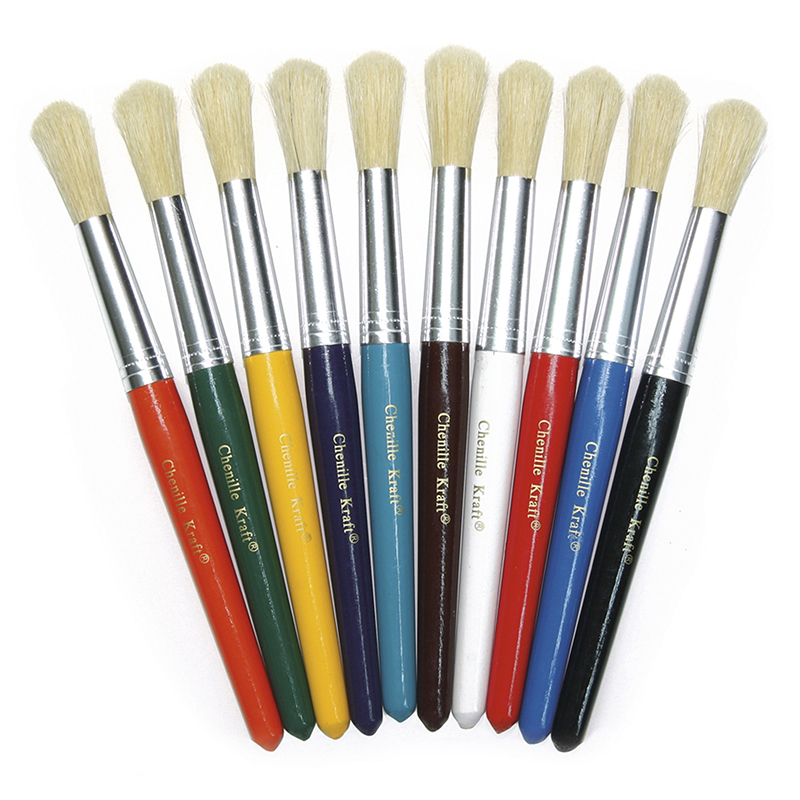 COLOSSAL BRUSHES SET OF 10 ASSORTED COLORS