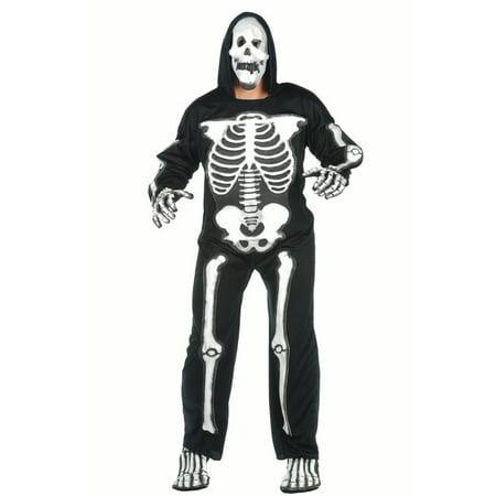 Plus Size Skeleton Costume (3-d Eva Skeleton Plus Size)