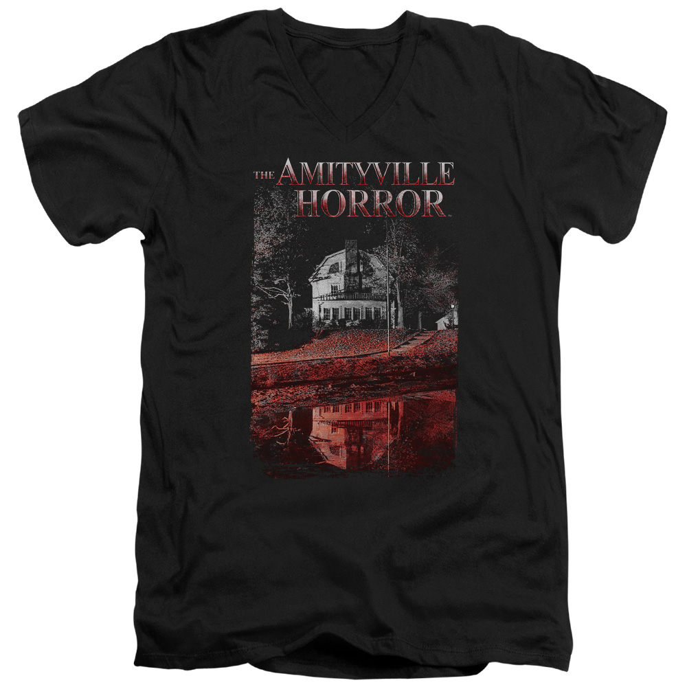Amityville Horror Cold Blood Mens V-Neck Shirt