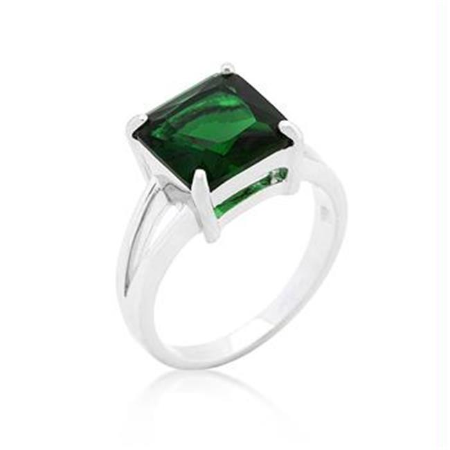 Emerald Ring Gypsy, Taille: 08 - image 1 de 1