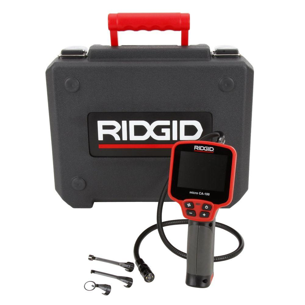 Ridgid 36738 LCD Display Inspection Camera with 3 ft. Cable