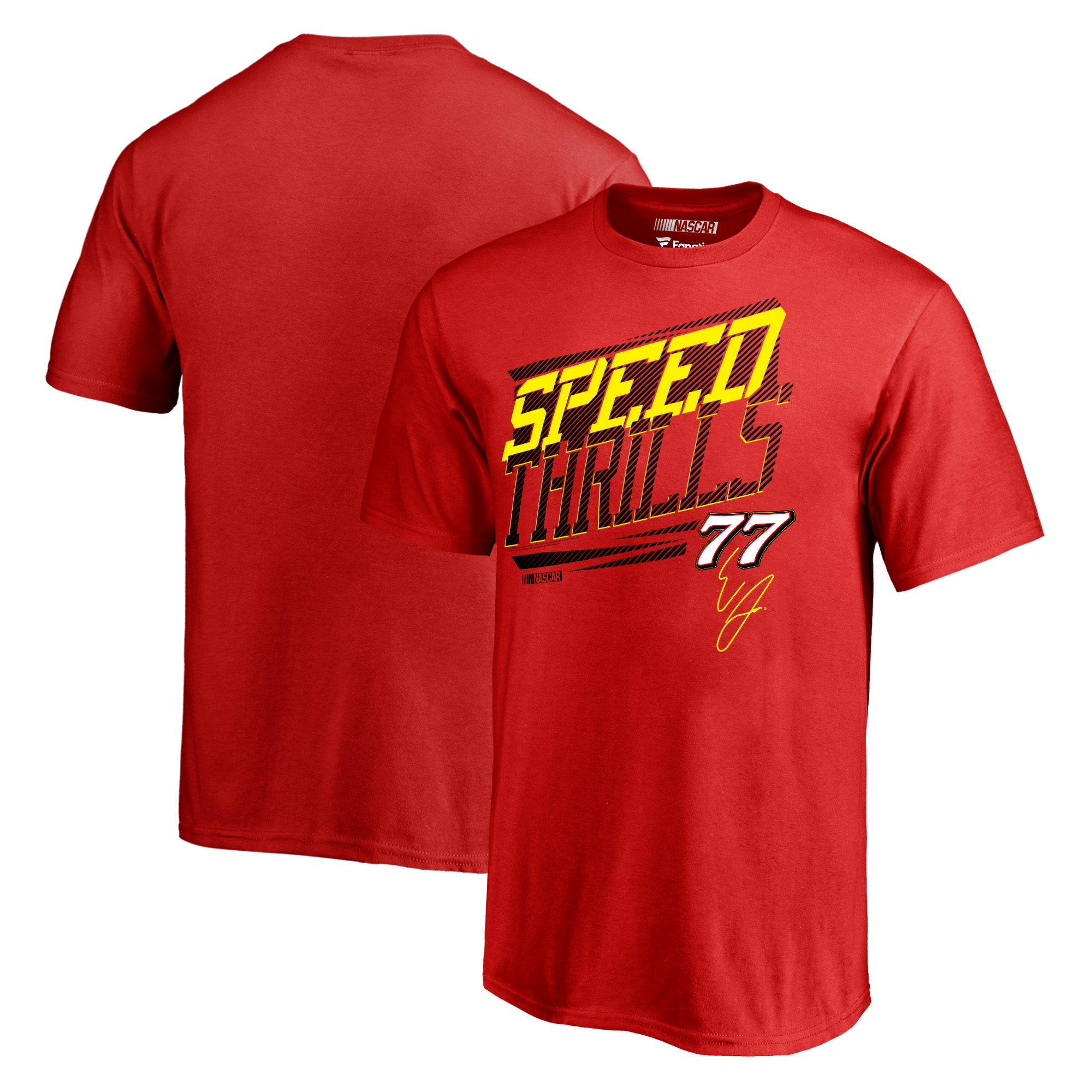 Erik Jones Fanatics Branded Youth Speed Thrills T-Shirt - Red