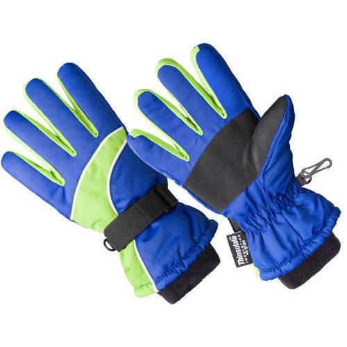HANDS ON Boys Premium Ski Glove - Thinsulate Lined