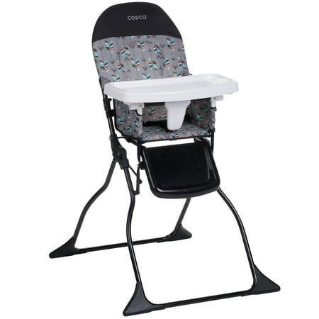 Cosco Simple Fold™ Full Size High Chair, Etched (Cosco Flat Fold High Chair Fruity Jungle)