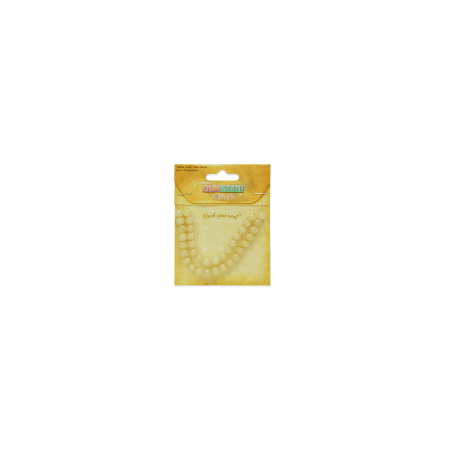 Expo Int'l Yellow Jade Beads - 6mm - 36 pcs. Yellow Jade Beads