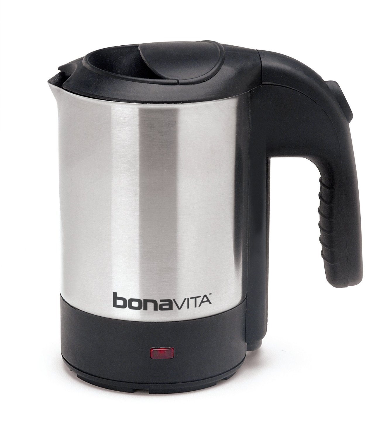 Bona Voyage 0.5-Liter Electric Travel Kettle Metallic, Sh...