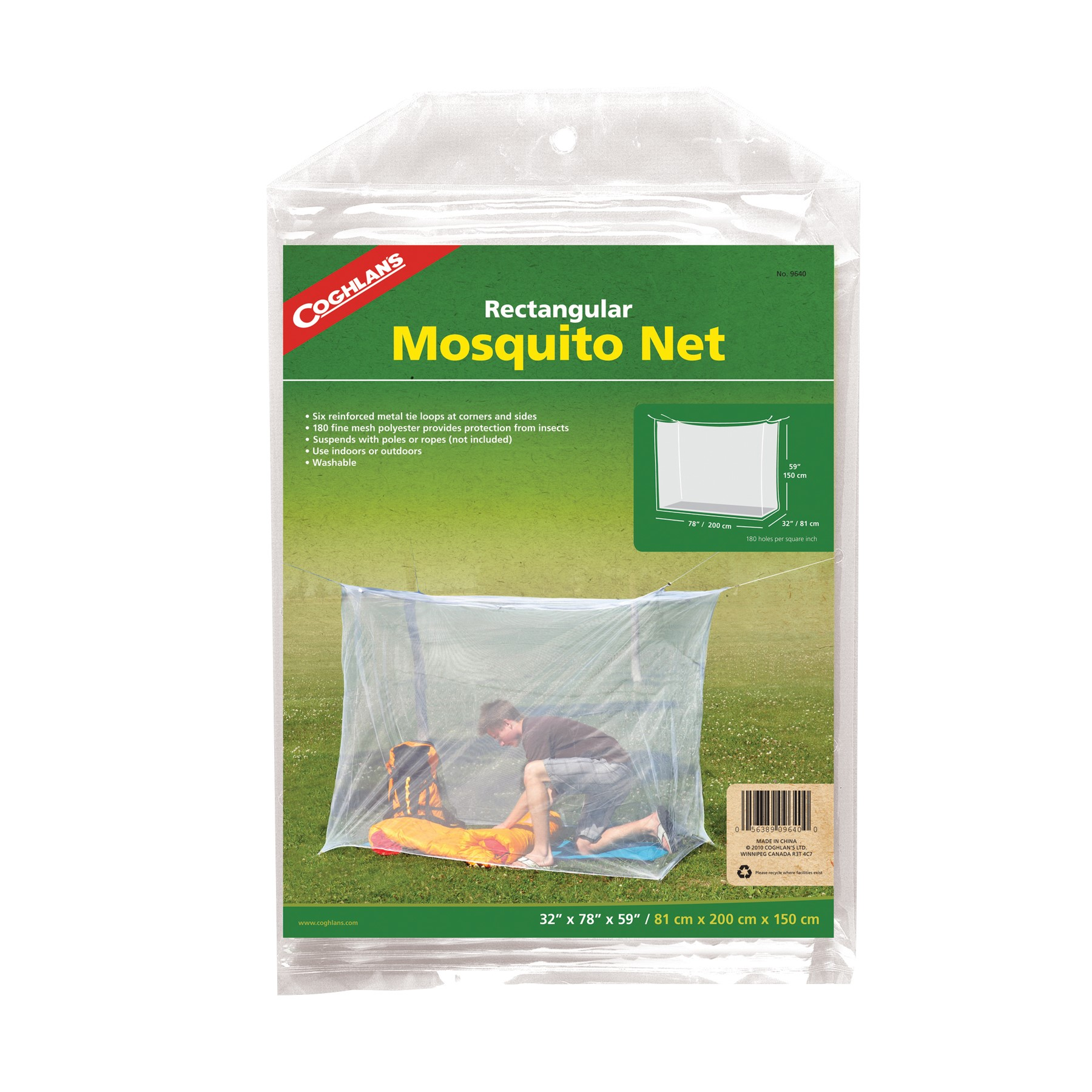 Click here to buy Coghlan's Mosquito Net, White by Generic.