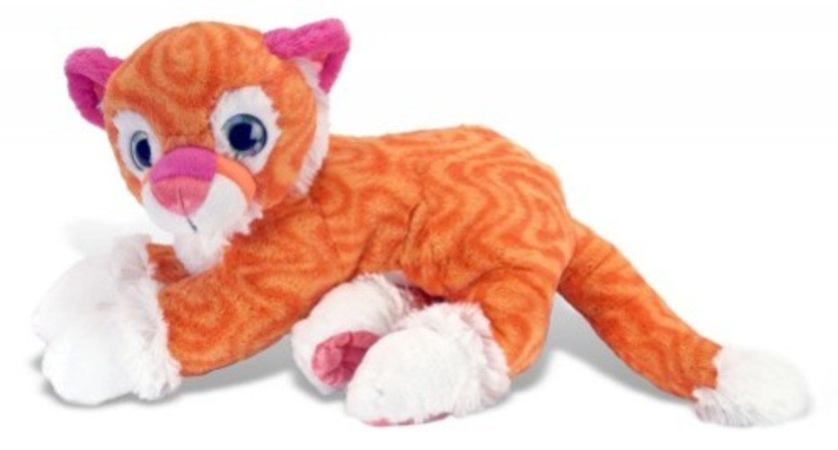 Sweet and Sassy Tangerine Tiger by Wild Republic 13515 by K&M International