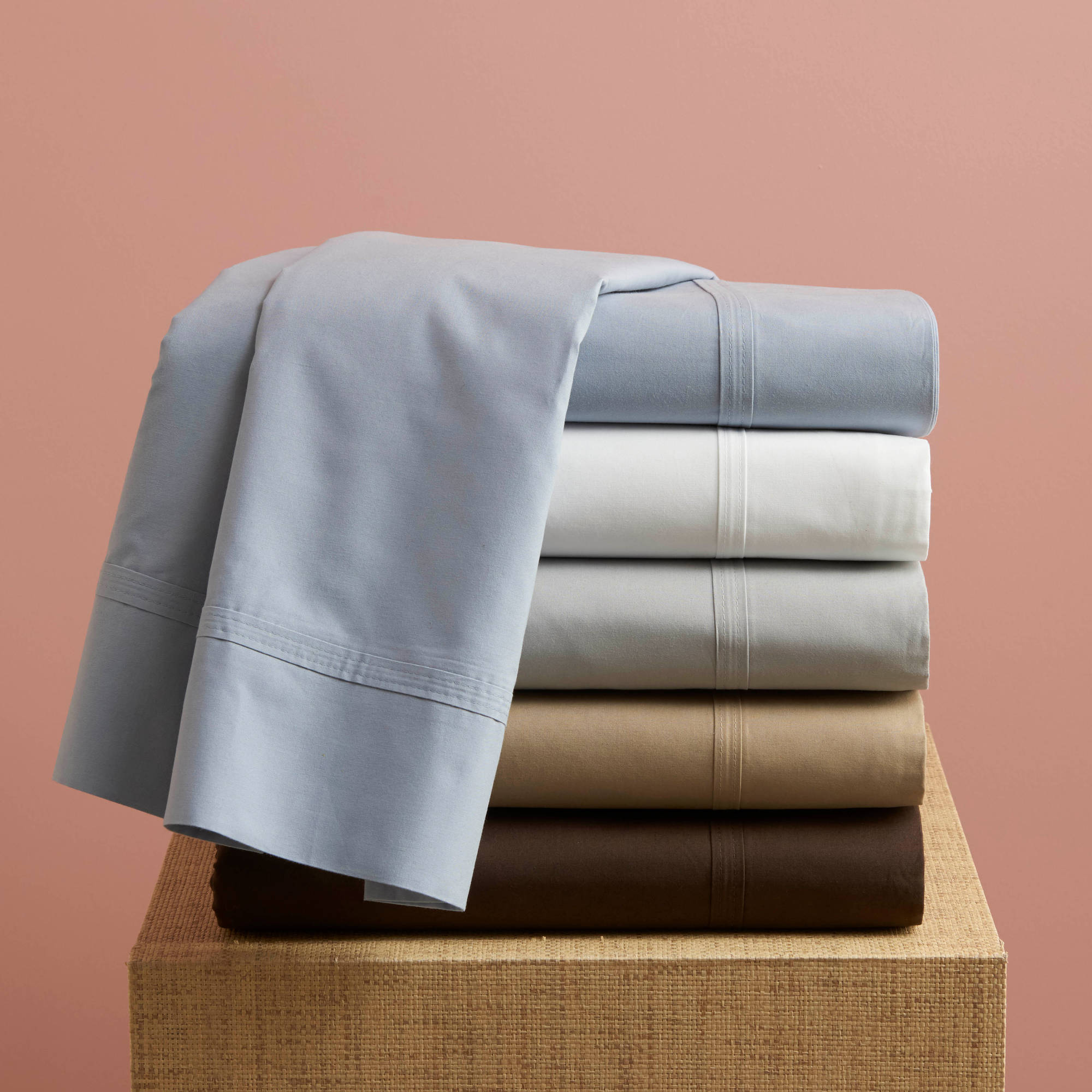 Great Better Homes And Gardens 350 Thread Count Hygro Cotton Percale Sheet  Collection Pillowcase   Walmart.com