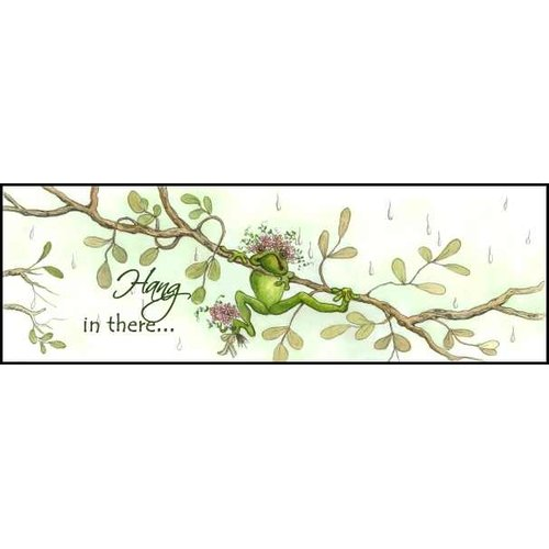 LPG Greetings Life Lines Hang In There by Peggy Abrams Graphic Art Plaque