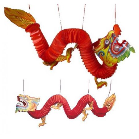 Chinese Paper Dragon Decoration