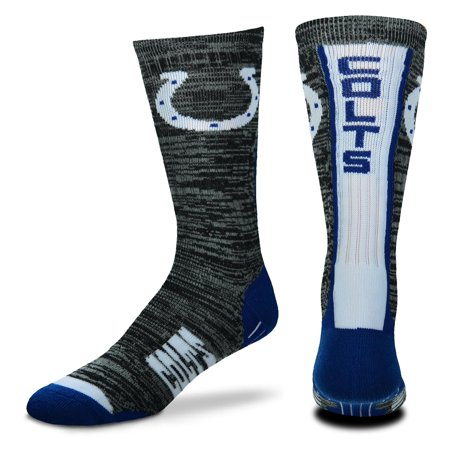 Indianapolis Colts For Bare Feet Women's Team Vortex Socks - (Indianapolis Colts Newborn Socks)