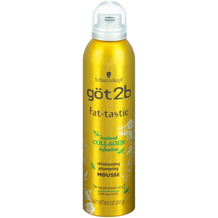 Hair Thickening Gel (Got2B Fat-tastic Thickening Plumping Hair Mousse, 8.5)