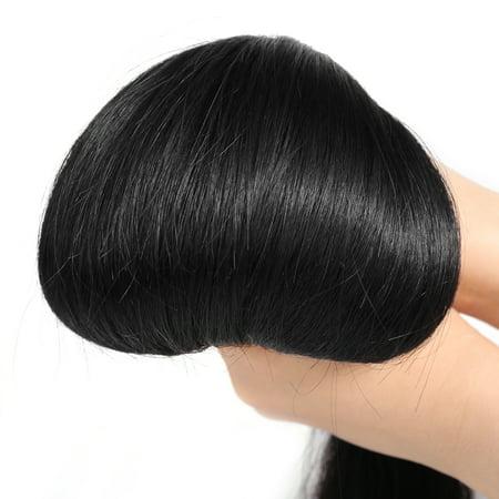 14 1 Bundle Straight Human Hair Brazilian 6A Silky Weave Wefts