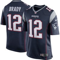 Tom Brady New England Patriots Youth Nike Team Color Game Jersey - Navy Blue