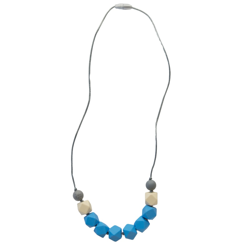 teething happens chewable jewelry cube necklace