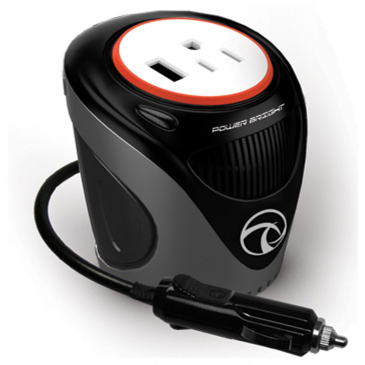 POWERBRIGHT 180 WATT CUP INVERTER FOR CAR + FREE SHIPPING
